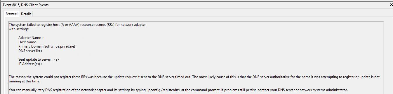 Windows 2016 Remote Desktop cannot verify the identity