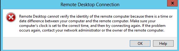 Windows 2016 Remote Desktop cannot verify the identity – Dimitri's